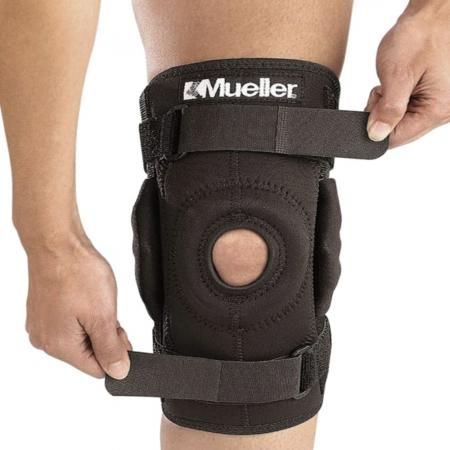 Hinged Wraparound Knee Brace